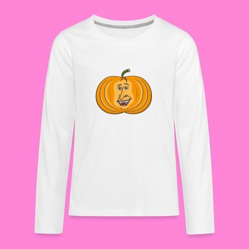 Rick pumpkin - Teenager Premium shirt met lange mouwen