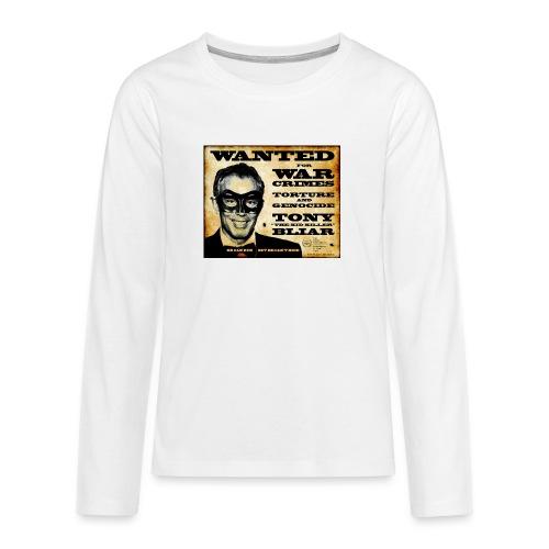 Wanted - Teenagers' Premium Longsleeve Shirt