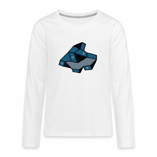 dot rock - Teenager Premium shirt met lange mouwen