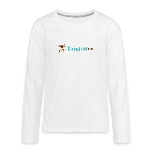 Tamparoo - Maglietta Premium a manica lunga per teenager