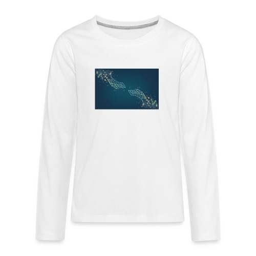 Du & Ich - Teenager Premium Langarmshirt