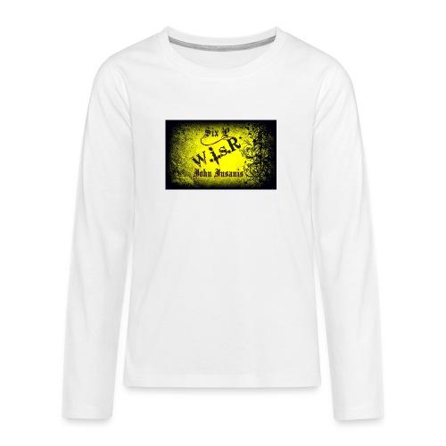 Six P & John Insanis Treenikassi - Teinien premium pitkähihainen t-paita