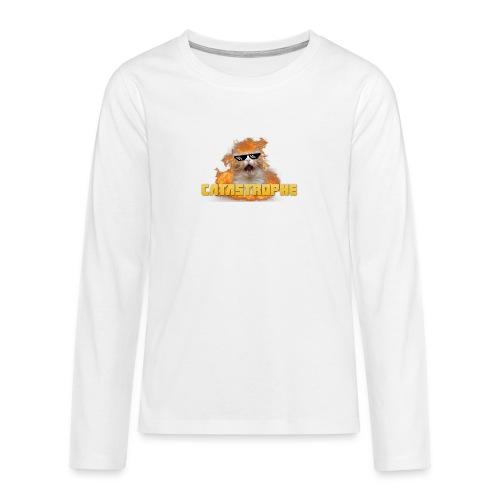 CATASTROPHE - Teenagers' Premium Longsleeve Shirt