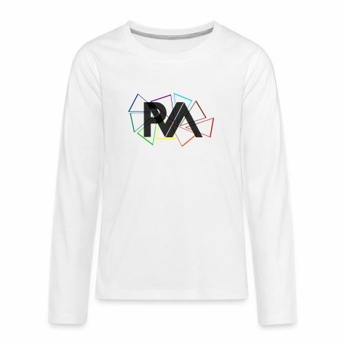 SIGLA DEL PARTITO P.V.A. - Maglietta Premium a manica lunga per teenager