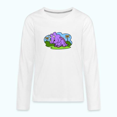 Tiny Dinosaur - Teenagers' Premium Longsleeve Shirt