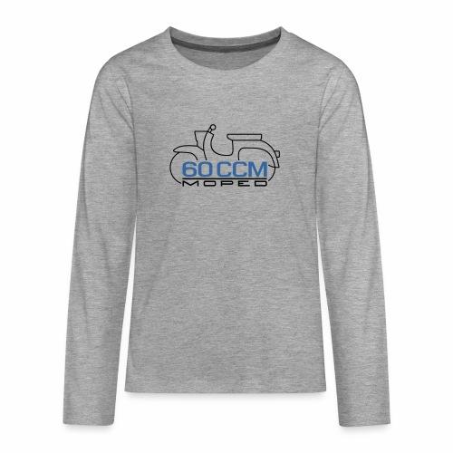 Moped Schwalbe 60 ccm Emblem - Teenagers' Premium Longsleeve Shirt