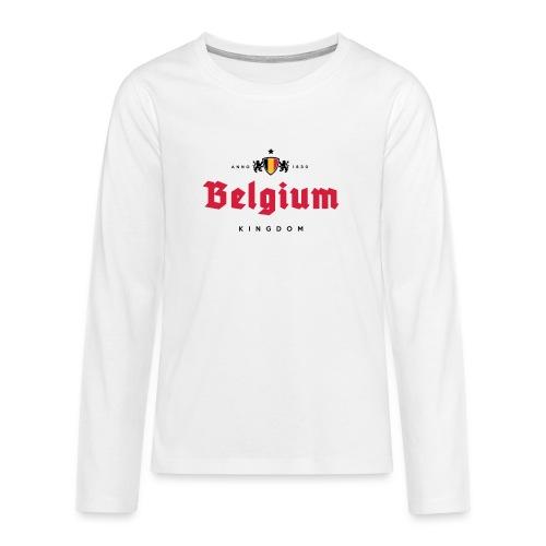 Bierre Belgique - Belgium - Belgie - T-shirt manches longues Premium Ado