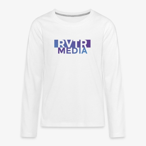 RVTR media NEW Design - Teenager Premium Langarmshirt