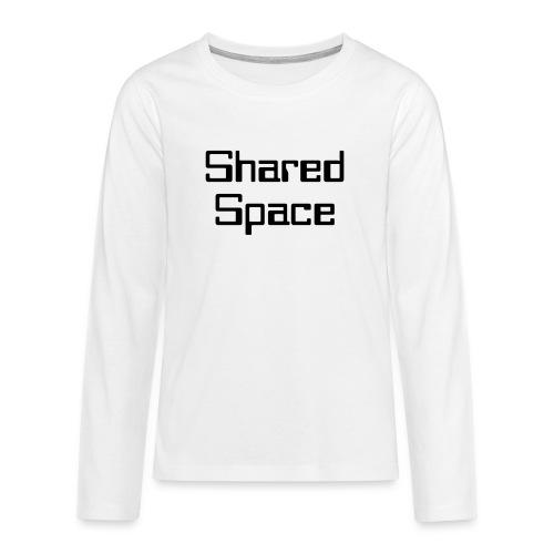 Shared Space - Teenager Premium Langarmshirt