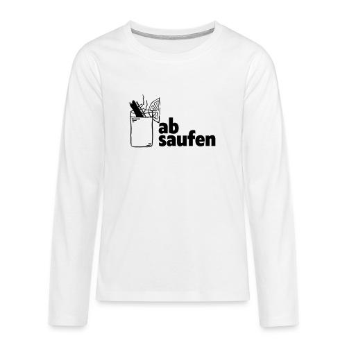 absaufen - Teenager Premium Langarmshirt