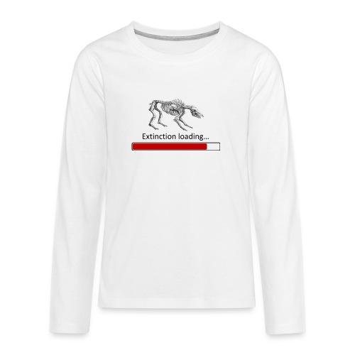Extinction - T-shirt manches longues Premium Ado