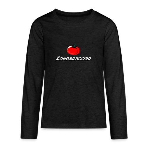 ZONGEDROOGD - Teenager Premium shirt met lange mouwen