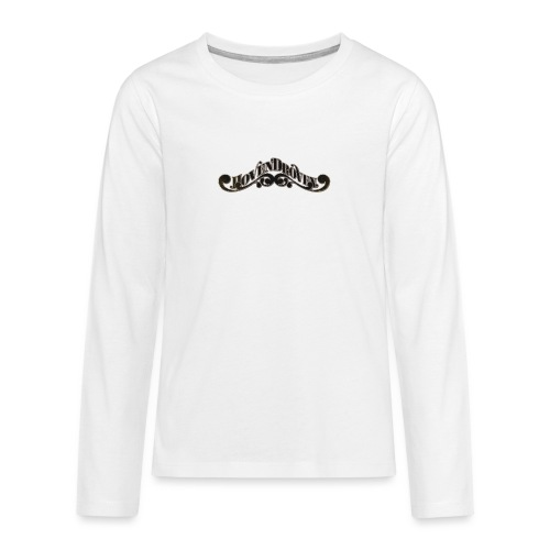 HOVEN DROVEN - Logo - Teenagers' Premium Longsleeve Shirt
