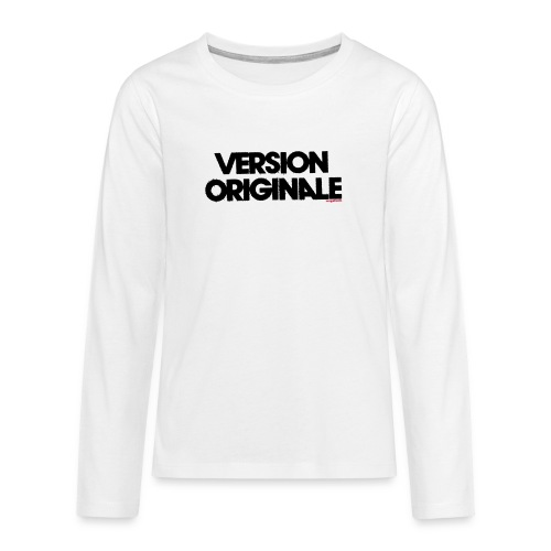 Version Original - T-shirt manches longues Premium Ado