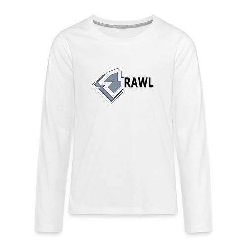 PANDA ONLY LOGO - Teenager Premium shirt met lange mouwen