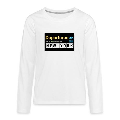Departures Defnobarre 1 png - Maglietta Premium a manica lunga per teenager