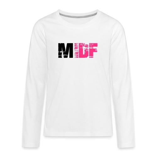 Logo MIDF 2 - T-shirt manches longues Premium Ado
