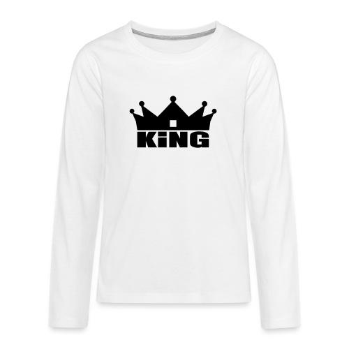 I'm the King - T-shirt manches longues Premium Ado