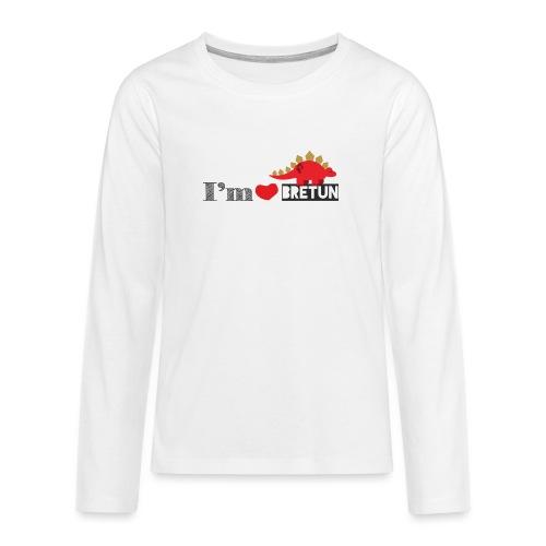 bretun negro - Camiseta de manga larga premium adolescente