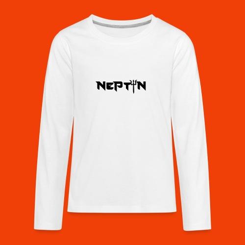 LOGO NEPTUN - Camiseta de manga larga premium adolescente