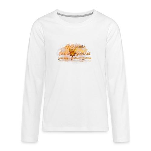 Accademia_Fabio_Scolari_trasprido-png - Maglietta Premium a manica lunga per teenager