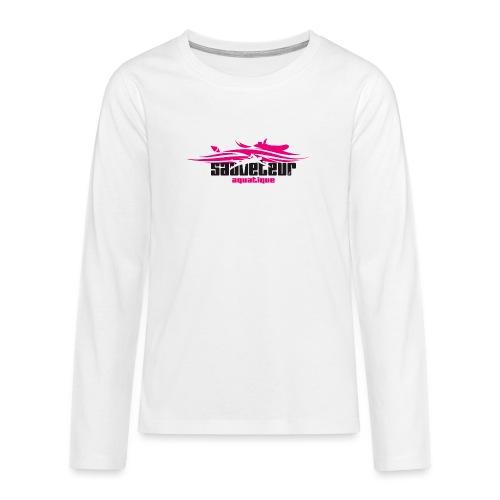 sauveteur aquatique - T-shirt manches longues Premium Ado