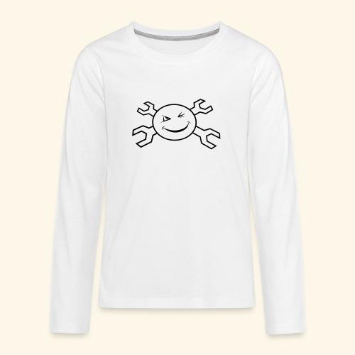 logo_atp_black - Teenagers' Premium Longsleeve Shirt