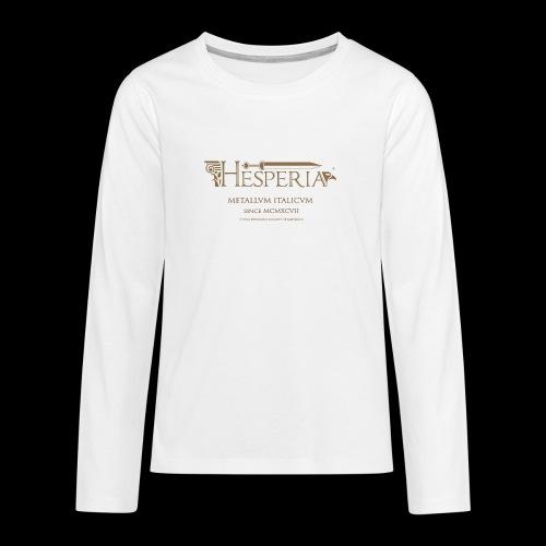 LOGO boccale png - Teenagers' Premium Longsleeve Shirt