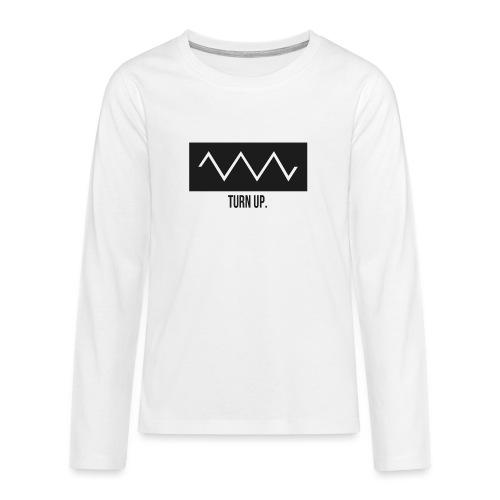 Turn Up - Teenager Premium Langarmshirt