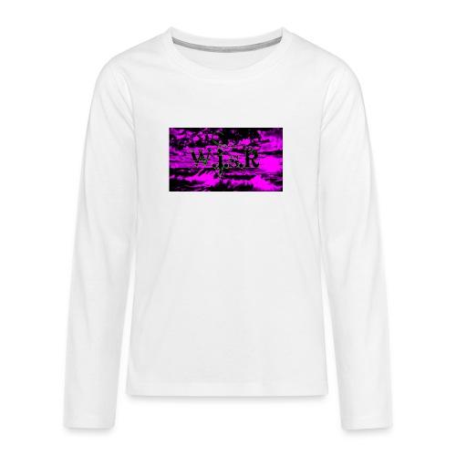 wisr valuva taivas Naisten-T Paita - Teinien premium pitkähihainen t-paita