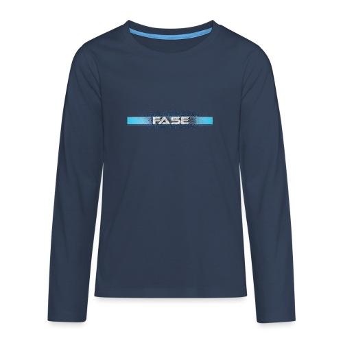 FASE - Teenagers' Premium Longsleeve Shirt
