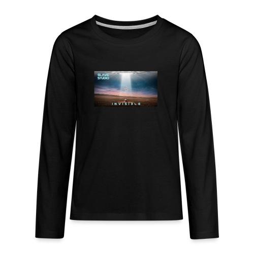 INVISIBLE - Maglietta Premium a manica lunga per teenager