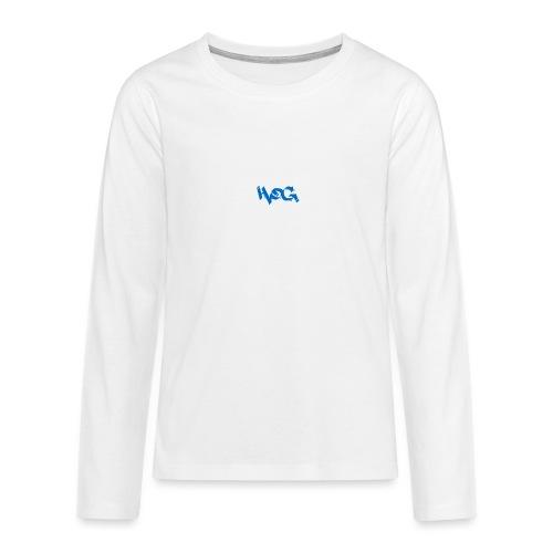 hog - Camiseta de manga larga premium adolescente