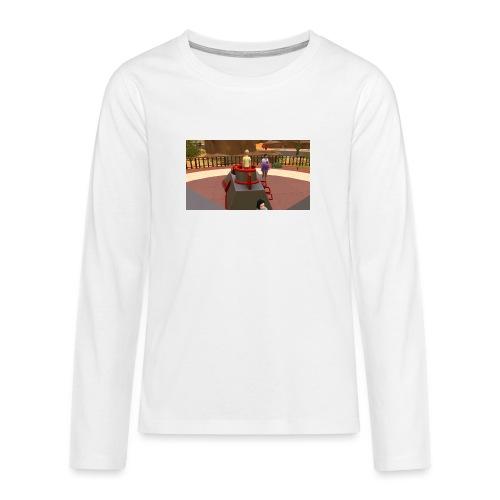de leuken spilmacheen - Teenager Premium shirt met lange mouwen