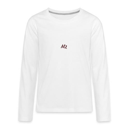 ML merch - Teenagers' Premium Longsleeve Shirt