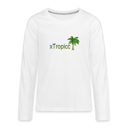 tropicc - T-shirt manches longues Premium Ado