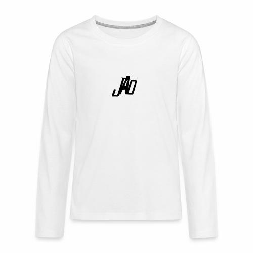 Jenna Adler Designs - Långärmad premium T-shirt tonåring