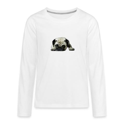 Cute pugs - Camiseta de manga larga premium adolescente