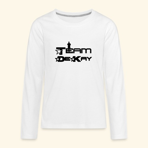 Team_Tim - Teenagers' Premium Longsleeve Shirt