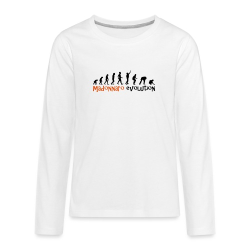 madonnaro evolution original - Teenagers' Premium Longsleeve Shirt
