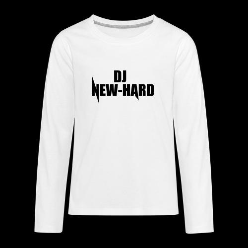 DJ NEW-HARD LOGO - Teenager Premium shirt met lange mouwen