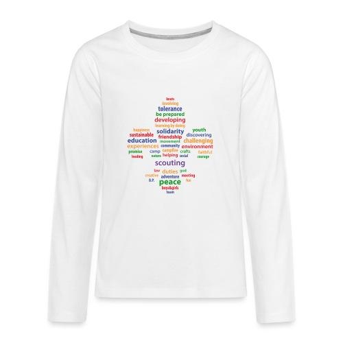 scouting is colored - Teenagers' Premium Longsleeve Shirt