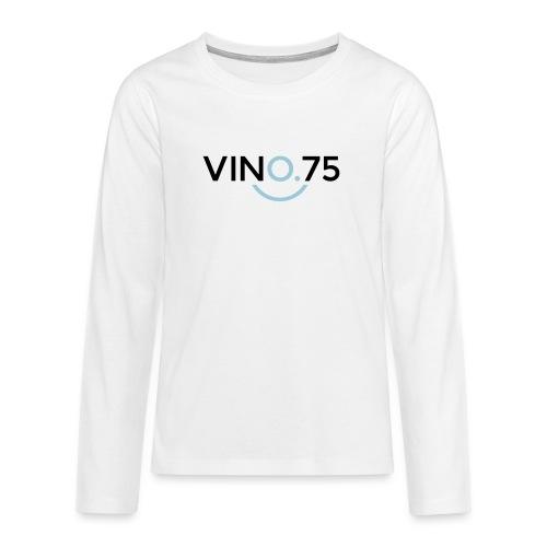 VINO75 - Maglietta Premium a manica lunga per teenager