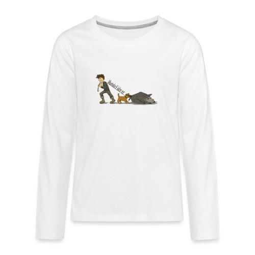 Hundeführer - Teenager Premium Langarmshirt