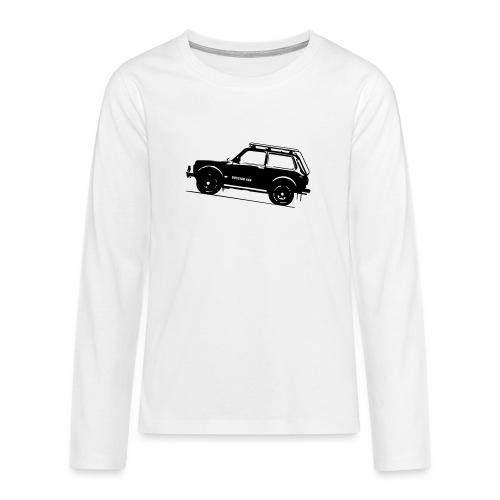 Lada Niva 2121 Russin 4x4 - Teenager Premium Langarmshirt