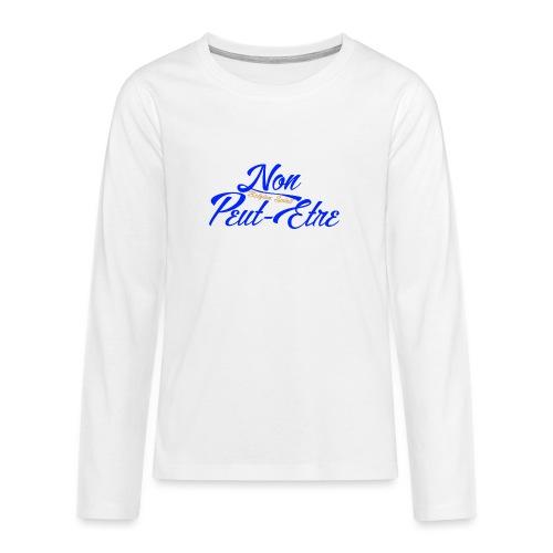 BELGIAN-NONPEUTETRE - T-shirt manches longues Premium Ado