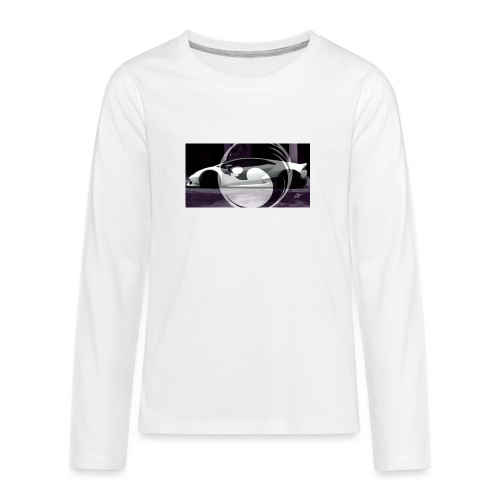 lion black lyon design - Teenagers' Premium Longsleeve Shirt