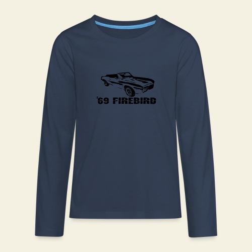 firebird small - Teenager premium T-shirt med lange ærmer