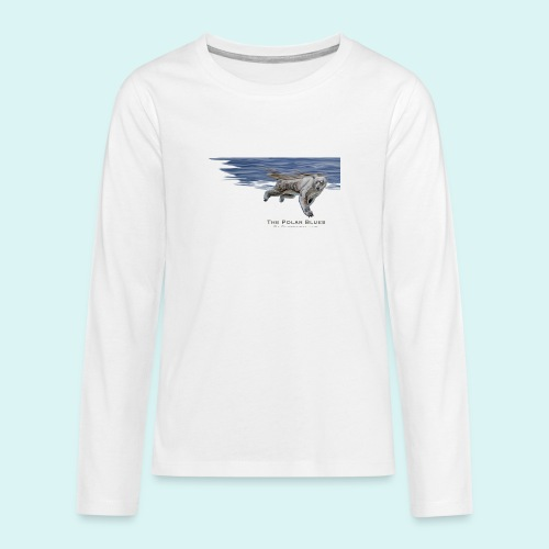 Polar-Blues-SpSh - Teenagers' Premium Longsleeve Shirt