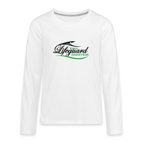 lifeguard NS - T-shirt manches longues Premium Ado